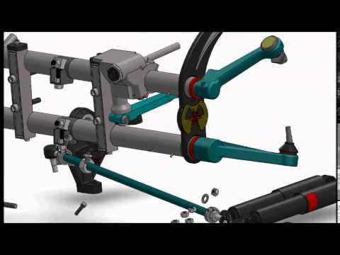 Ball Joint Front Axle Beam Assembly for Volkswagens