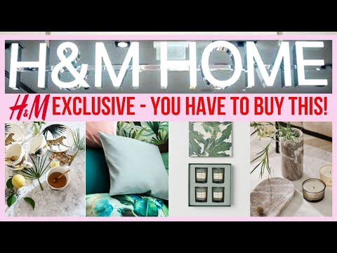 COME HOMEWARE SHOPPING WITH ME | NEW IN H AND M | HOME DECOR SHOPPING | H&M HOME