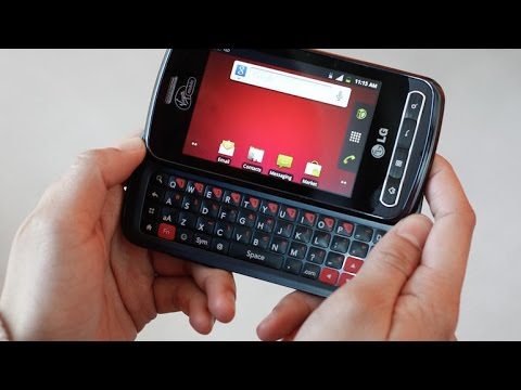 LG Optimus Slider Hard Reset, Format Code solution