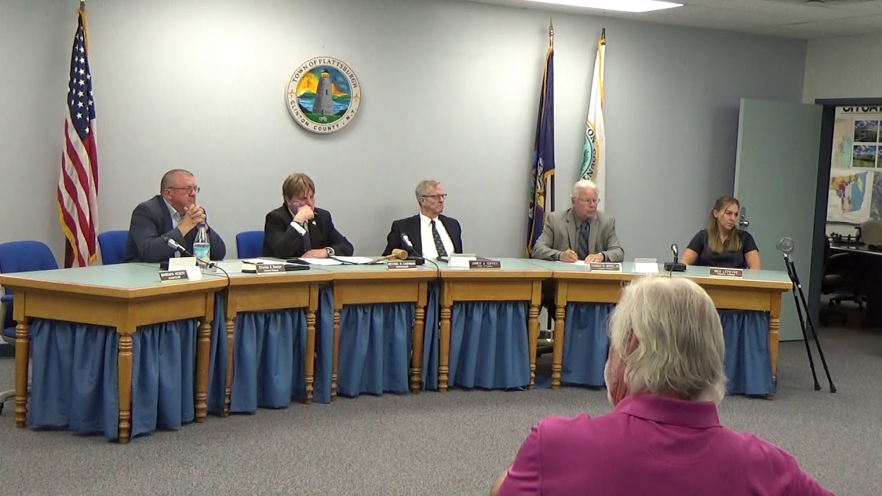 Town of Plattsburgh Meeting  8-22-19