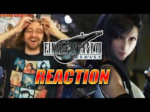 MAX REACTS: TIFA REVEALED – Final Fantasy 7 Remake E3 2019 Trailer