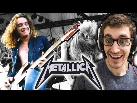 Metallica - For Whom the Bell Tolls [Cliff 'Em All] HIP HOP HEAD REACTS TO METAL!!