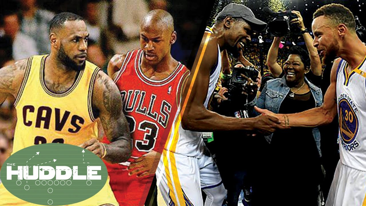 c2eb6e879161 Is the LeBron James vs Michael Jordan Debate OVER  Did the Warriors NEED Kevin  Durant  -The Huddle