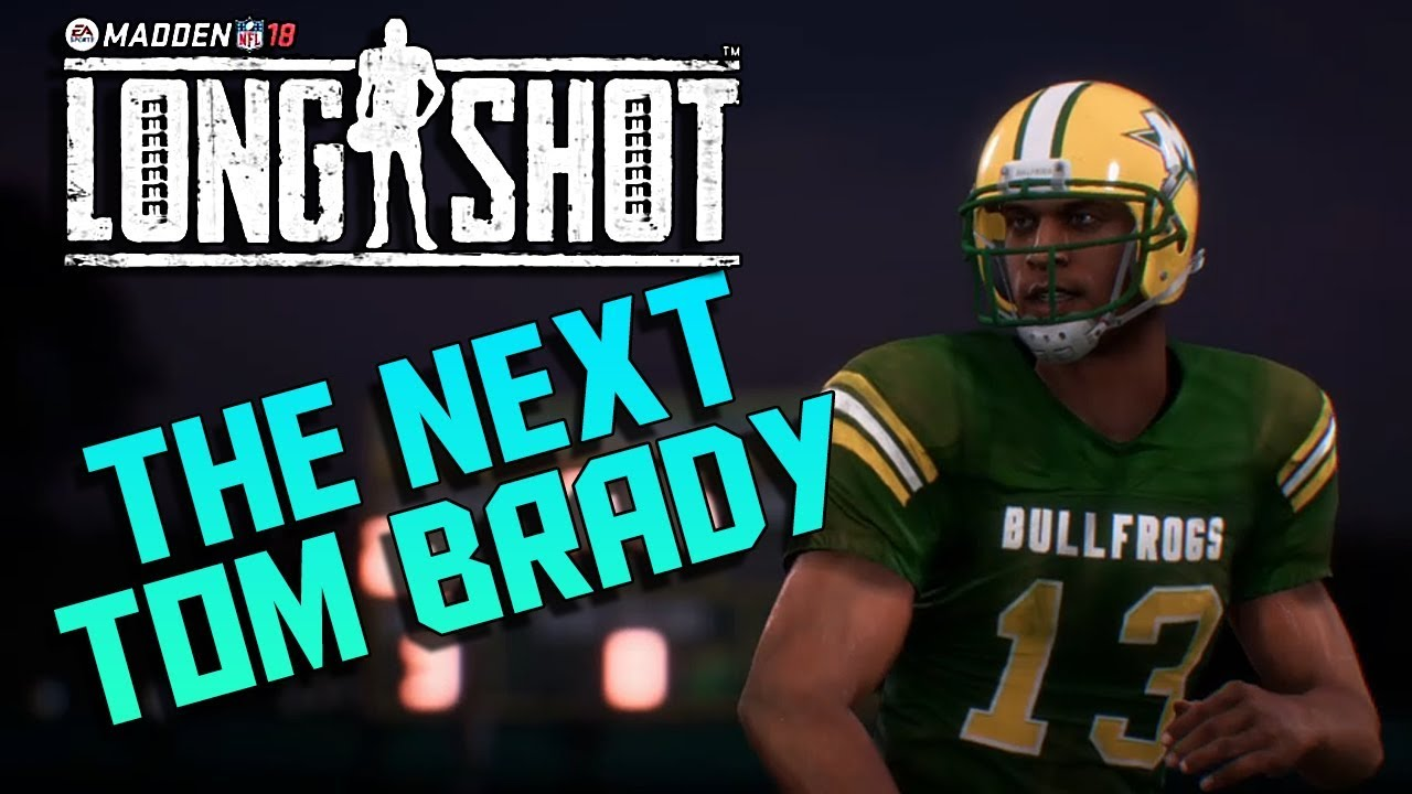 Madden 18 Longshot Story Mode Gameplay - The Next Tom Brady (Longshot Story  Mods Part 1)