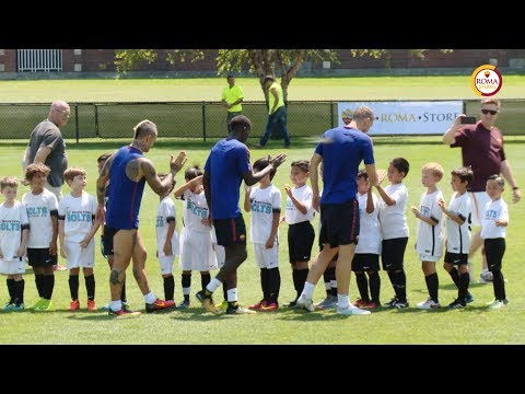 3 AS Roma Stars v 16 AS Roma Academy Players