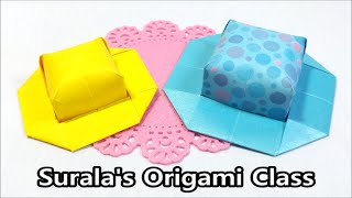 Origami - Hat (easy & cute)