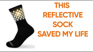 Reflective Cycling and Running Socks - Night Safety Running Gear