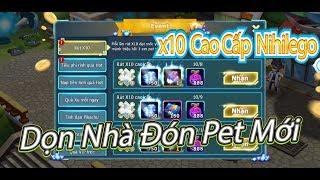 NBH:Gộp Ash's Pikachu Cùng Nhiều Lengends Và x10 Cao Cấp Nihilego Full 10 Lần