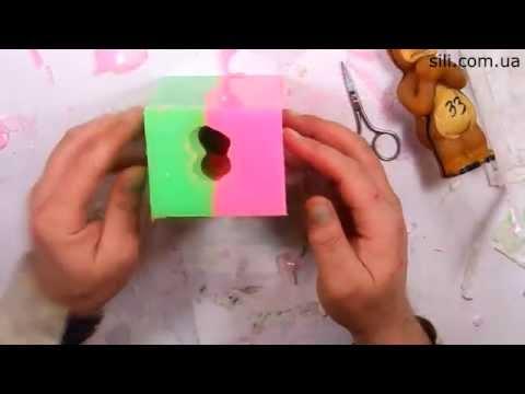 Ролик Изготовление формы из силикона Эластолюкс Платинум