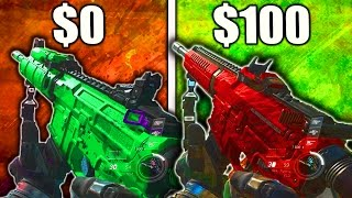 $0 NV4 Vs $100 NV4 FLATLINE - IS THE BEST EPIC VARIANT WORTH IT? (INFINITE WARFARE BEST EPIC GUNS)
