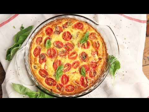 Pizza: Margherita Quiche Recipe