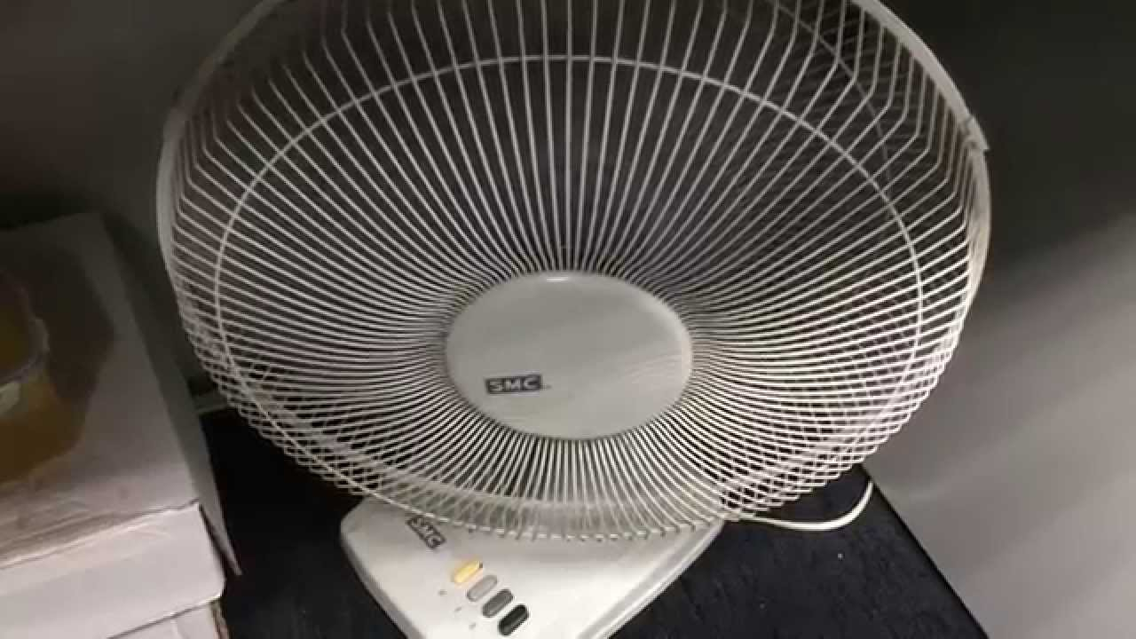 16 Quot Smc Oscillating Table Fan Youtube