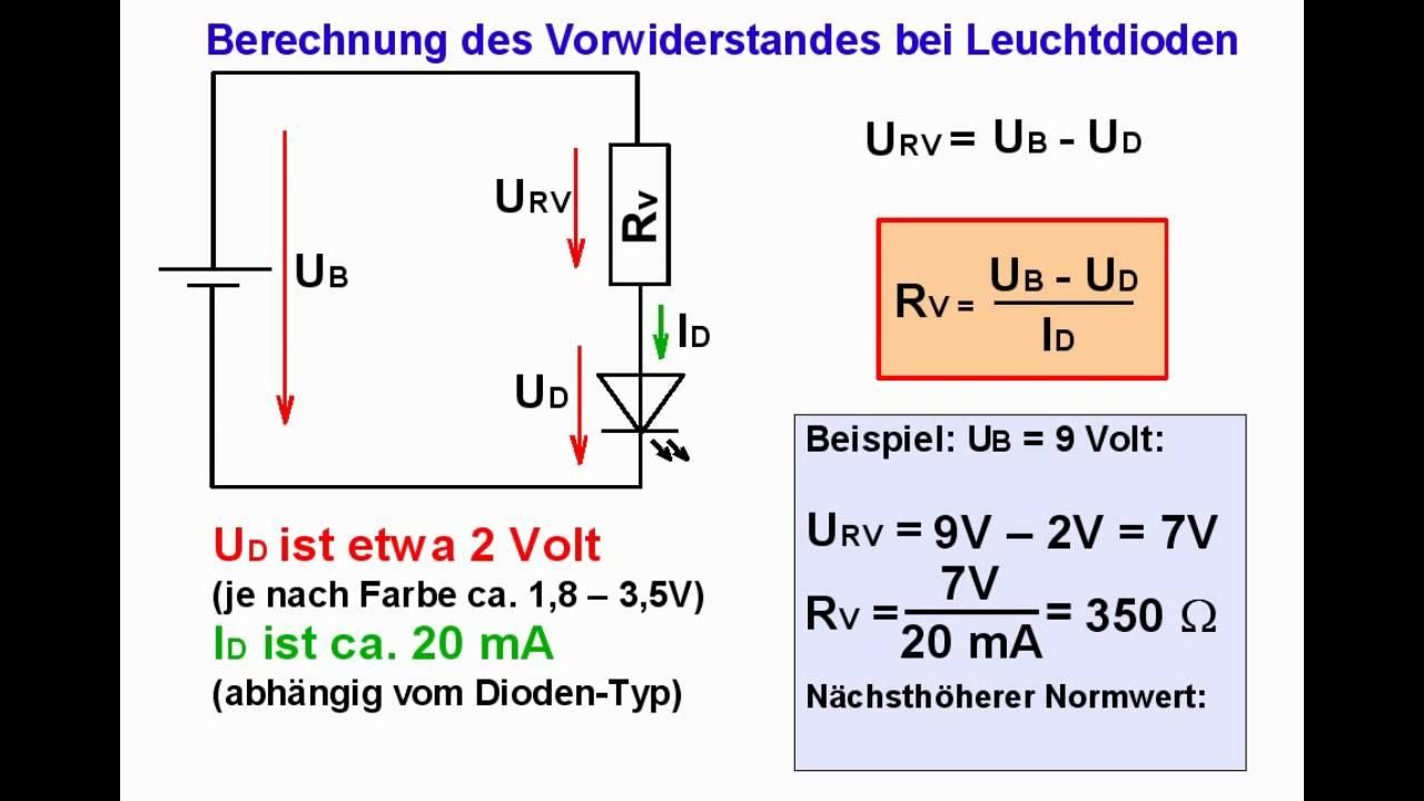 elektronik tutorial 07 leuchtdioden leds youtube