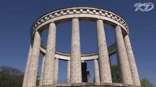 Il Doss Trento e il Mausoleo a Cesare Battisti