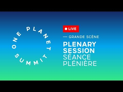 Plenary Session - #OnePlanet