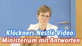 Klöckners Werbevideo für Nestlé: Was hat sich die Ernährungsministerin dabei gedacht?