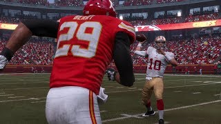 Madden 19 Career Franchise Mode - CATCH THE BALL!? EP 3 Chiefs vs 49ers Franchise (Madden 19)