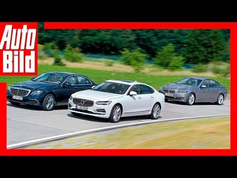 Test / Fahrbericht / Review / Mercedes vs Volvo vs BMW (2016) / Volvo greift die Oberklasse an