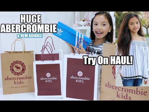 Huge Abercrombie Spring Haul + New Adidas!