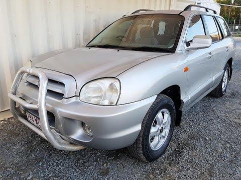 (SOLD) Automatic 4×4 SUV Hyundai Santa Fe 2005 Review