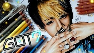 OBSESSED! Drawing Bambam from Kpop band GOT7- Cloctor Creations