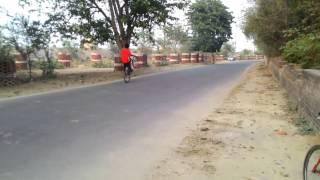 wheelie mtb   pegs wheeling by hudsin   mtb stunts india