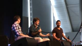Comic Con Germany. Nathan Fillion, Seamus Dever, Jon Huertas - Part 1