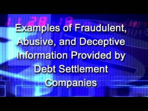 GAO: Undercover Calls Made to Debt Settlement Companies