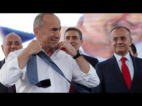 Досрочные выборы в парламент Армении. Роберт Кочарян и его блок - главные фавориты