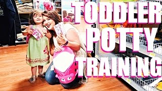 TODDLER'S FIRST: TRYING TO POTTY TRAIN IN 3 DAYS!!