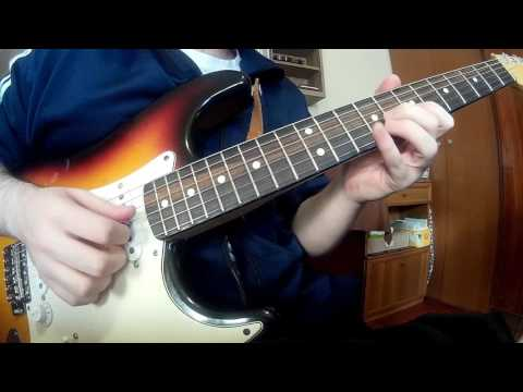 Moving On And Getting Over - John Mayer(Guitar Cover + Improvised Ending Solo) With TABS