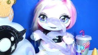 Unicorn Slime'ı Eline Yüzüne Bulaştırıyor | Poopsie Pooey Puitton DIY Slime | Zep'in Oyuncakları