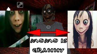 MOMO CHALLENGE IS GRANNY