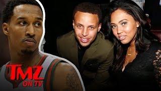 Former NBA Star Tells Steph Curry's Wife She's Beautiful | TMZ TV