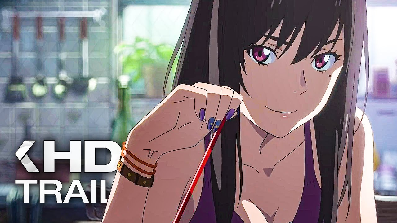 Weathering With You Trailer 2020 English Dub Youtube