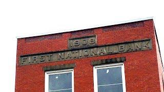 ABANDONED FIRST NATIONAL BANK - Bowerston Ohio