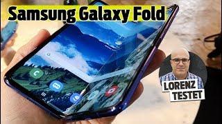 Samsung Galaxy Fold: Faltbares Handy im Test – Flop oder die Zukunft? (Lorenz testet)