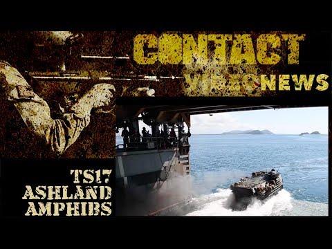 Talisman Sabre 2017 – USS Ashland amphibious launch