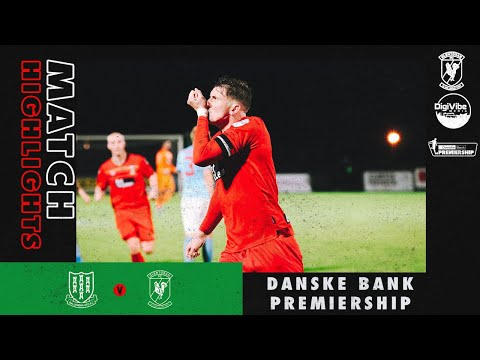 Ballymena Glentoran Goals And Highlights
