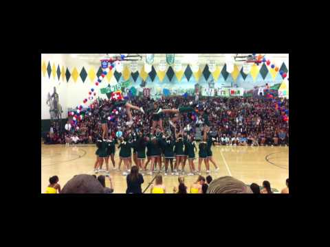 MY EXCHANGE YEAR IN THE USA - HOMECOMING PEP RALLY 2012 - LAKESIDE HIGH SCHOOL