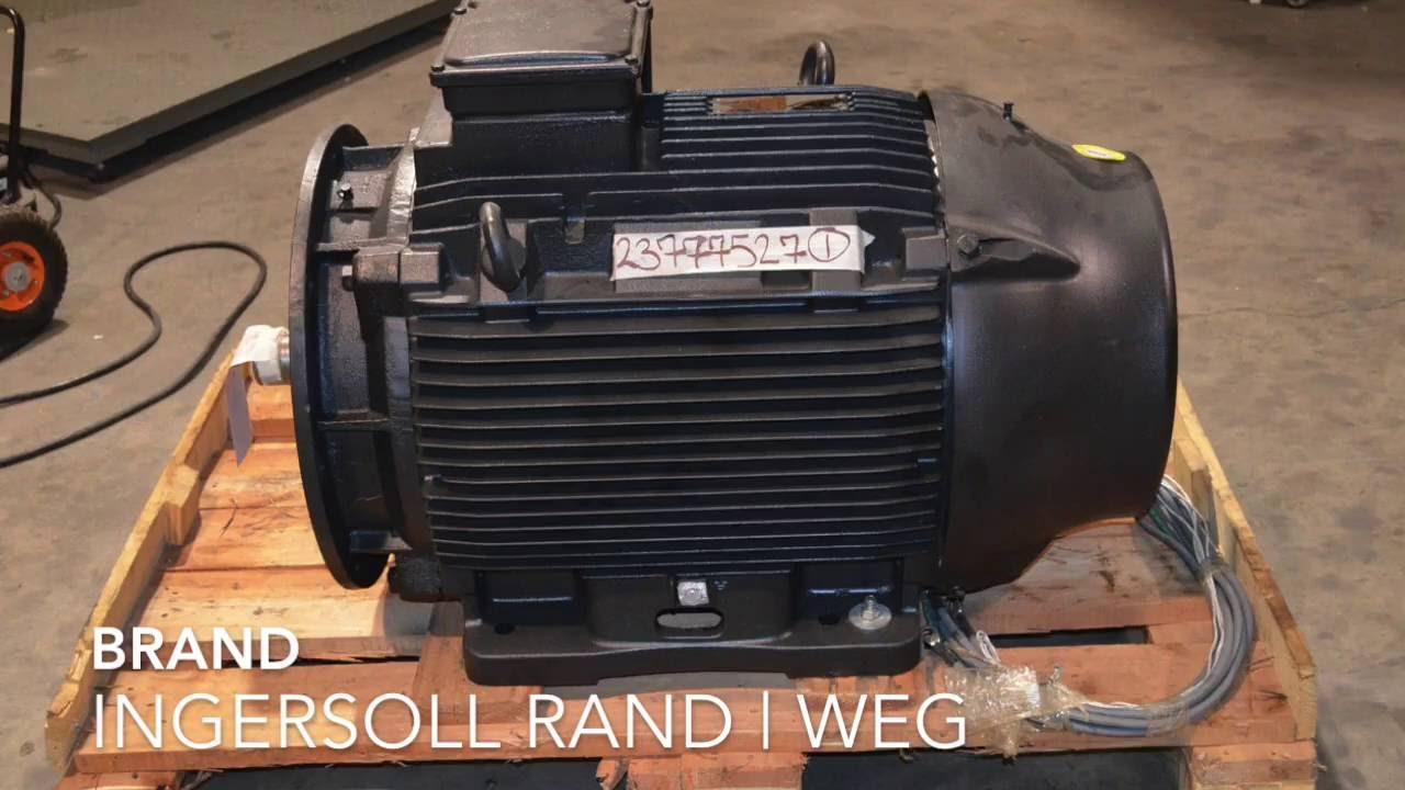 For sale ingersoll rand weg 23777527 125 hp 90 kw air for Ingersoll rand air compressor motor starter
