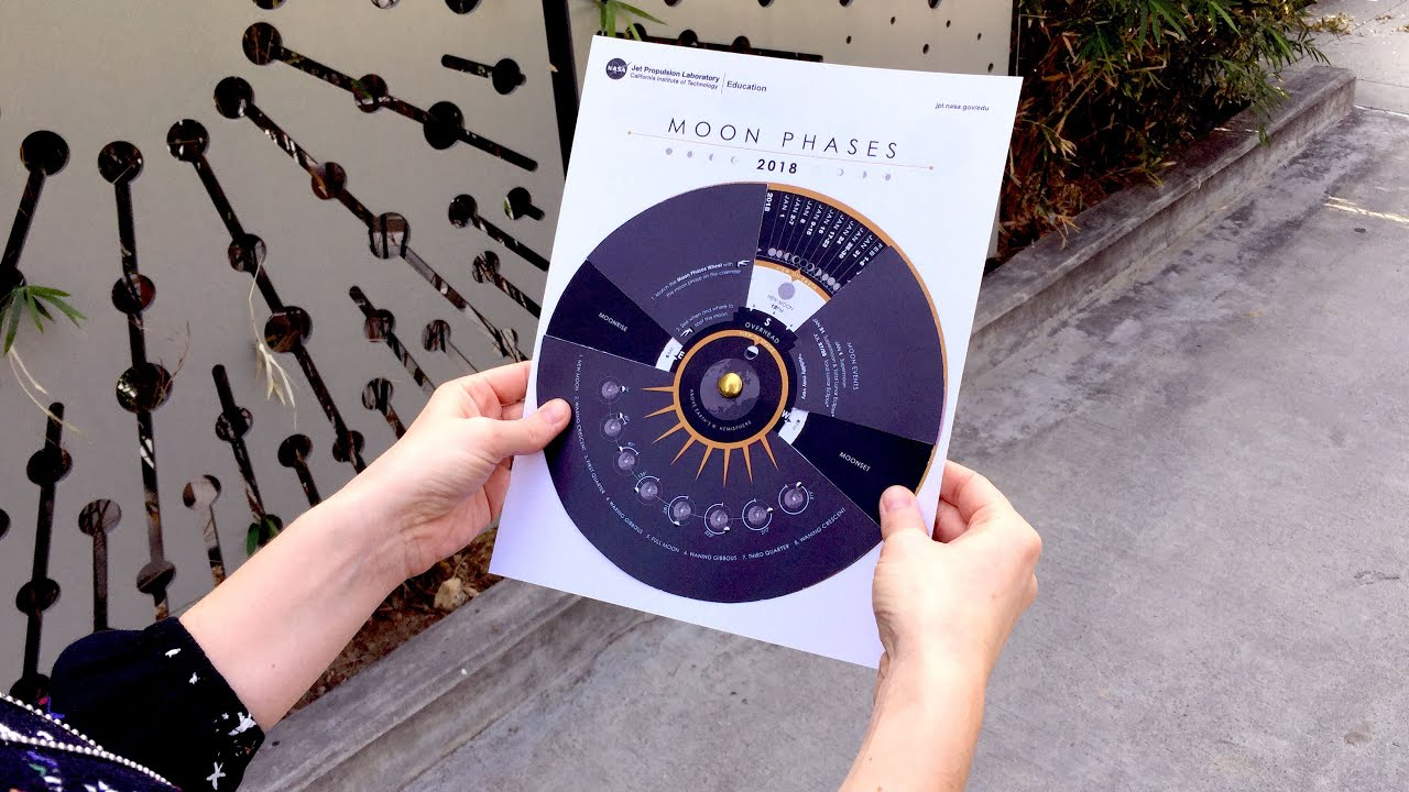 Student Project: Make a Moon Phases Calendar and Calculator – NEW