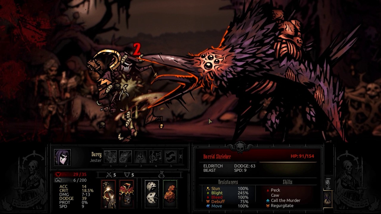 Darkest Dungeon Dominate The Shrieker With This Perfect Strategy Youtube