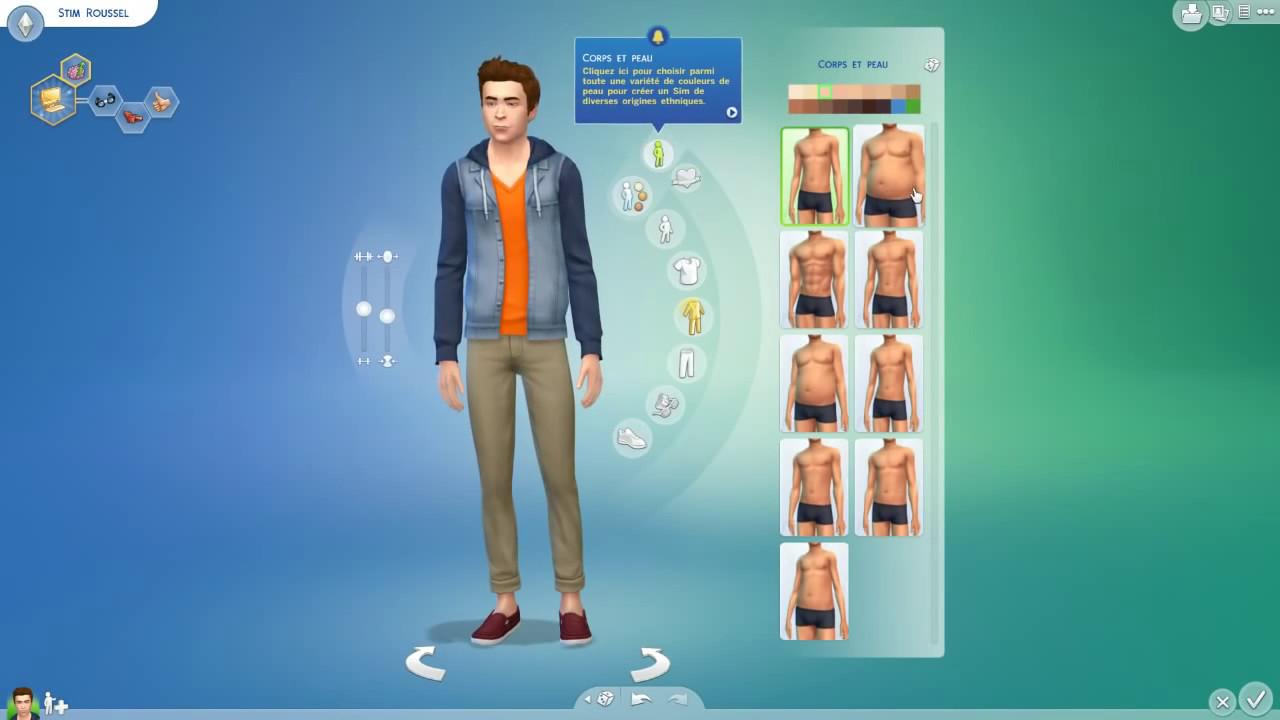 Sims 4 fr 1 cr ation du sim et de la maison youtube for Maison prefabriquee sims 4