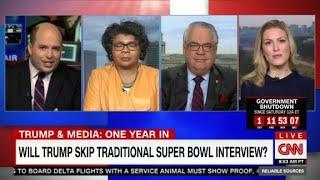 Will Trump skip traditional Super Bowl interview?