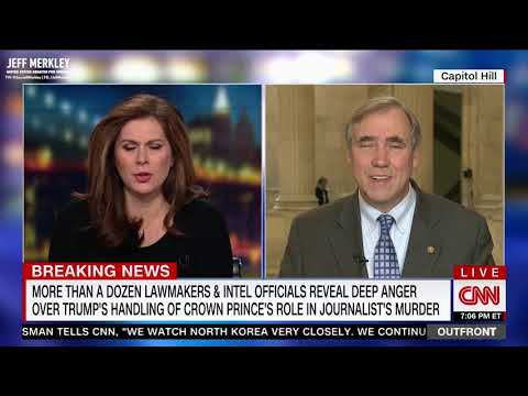 Senator Jeff Merkley on CNN Out Front