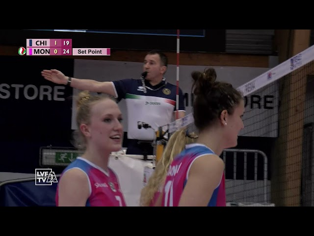 HighLights Reale Mutua Fenera Chieri'76 - Saugella Monza - Quarti di Finale Playoff - Gara 2