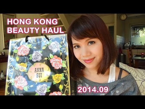 Hong Kong Beauty Haul Sep. 香港购物分享 2014