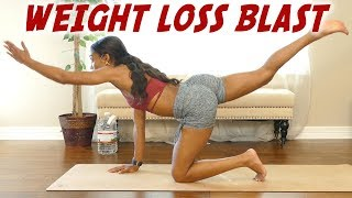 Total Body Workout to Burn Stubborn Belly Fat & Strengthen Your Core! 20 Minute HIIT at Home