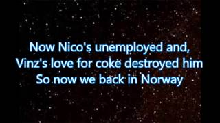 Nico & Vinz - That's How You Know you F@cked Up ((feat. Bebe Rexha & Kid Ink) Lyric on Screen